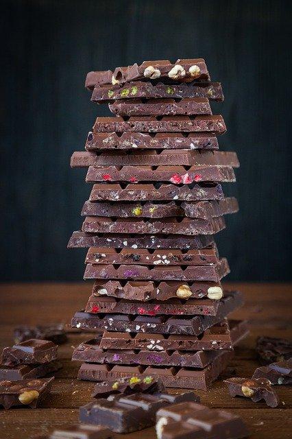 Mendiants en chocolat, vrac