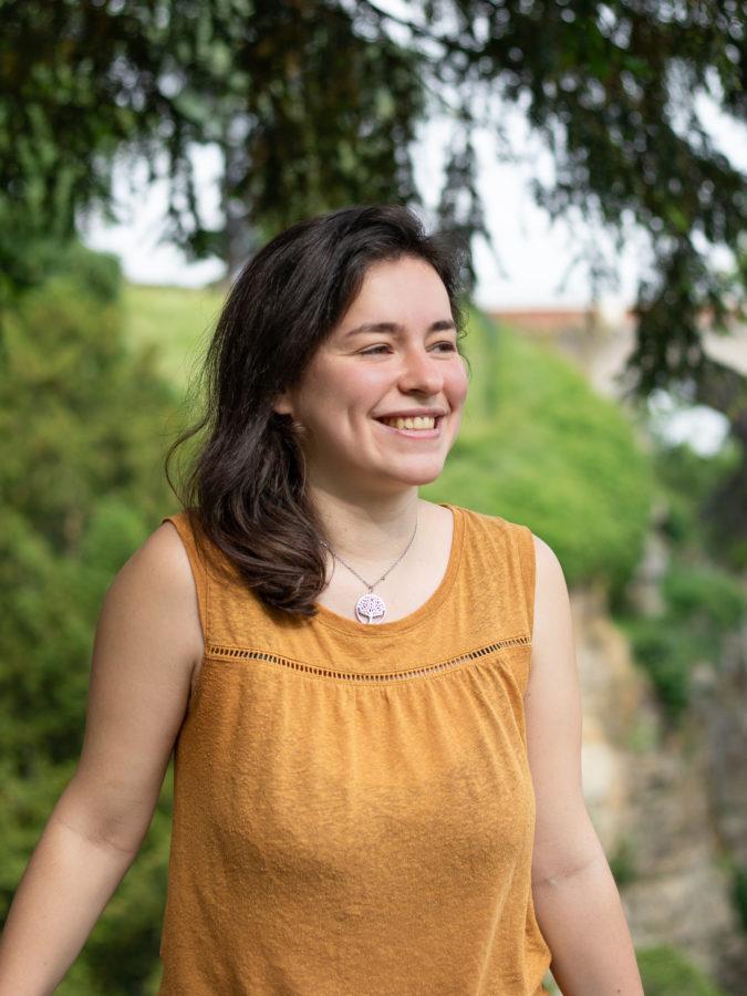 Bérénice Bieuville souriante