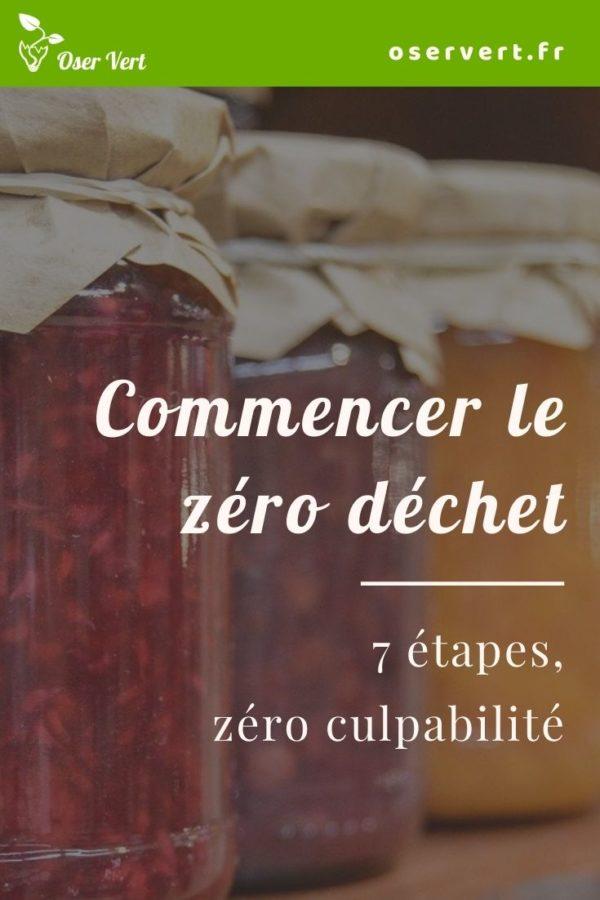 7 étapes pour commencer le zéro déchet