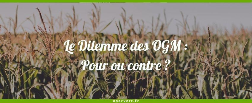 Pour ou contre les OGM ? Couverture