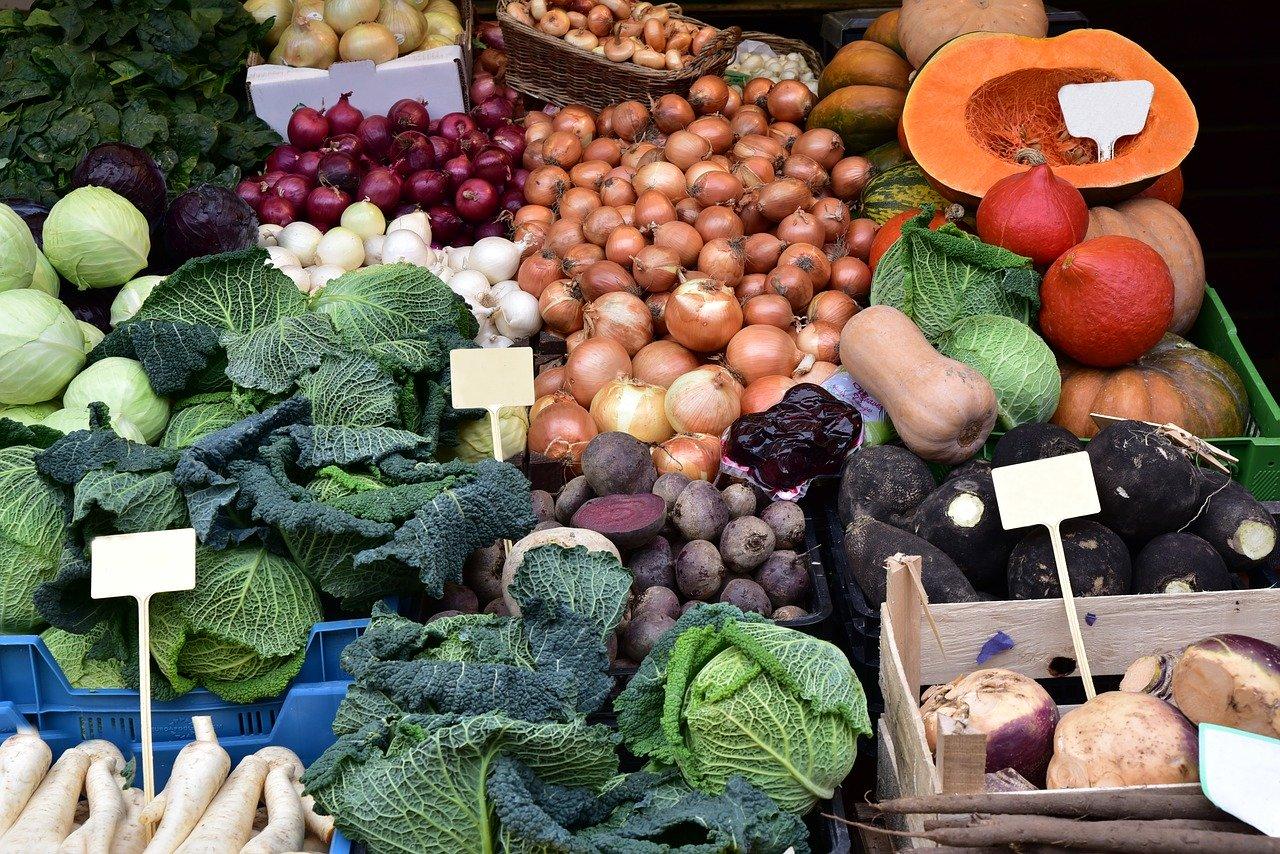 légumes d'hiver variés