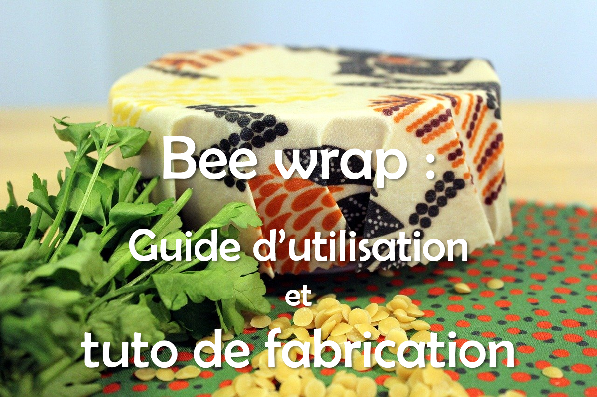 Tuto fabrication bee wrap