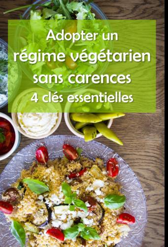 Présentation de 4 clés pour adopter un régime végétarien