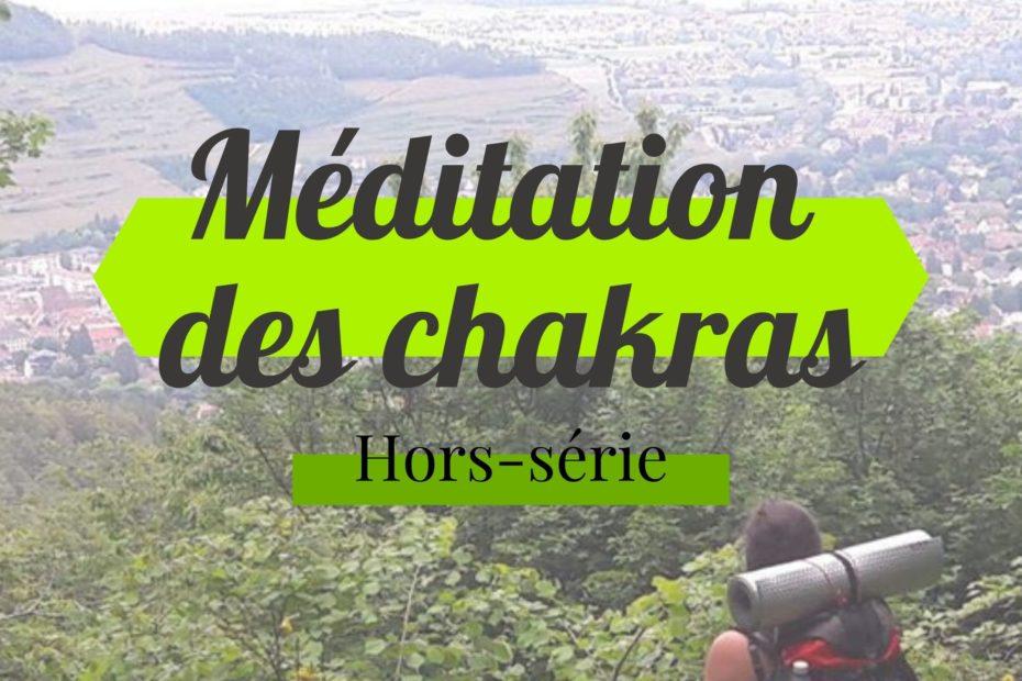Méditation d'ouverture des chakras - couverture