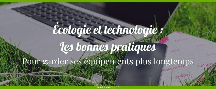 Ecologie et technologie conseils : couverture