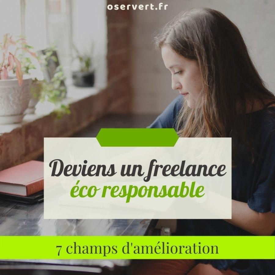 Deviens un freelance éco responsable